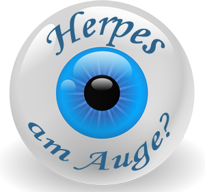 Herpes am Auge