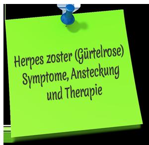 Herpes zoster (Gürtelrose)